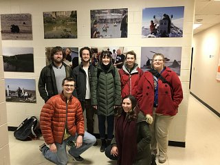 OSU Student Chapter Tour of Byrd Polar Research Center